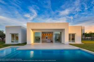 Buy modern villa with swimming pool. Finestrat. Alicante.