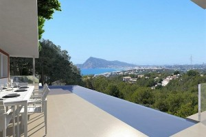 Buy luxury villa with sea view. Altea. Alicante.