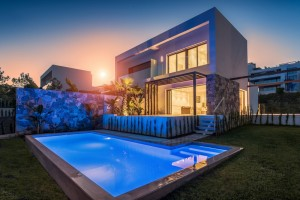 Buy modern villa in Golf courses. Campoamor. Alicante.