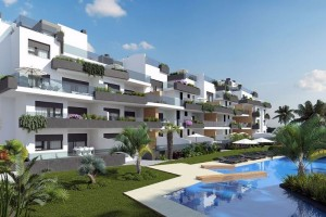 Buy apartment with swimming pool. La Zenia. Orihuela Costa.